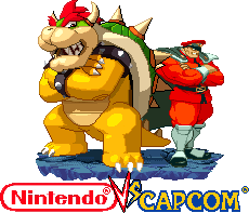 Mr.Bison and Bowser Nintendo vs Capcom by Riklaionel