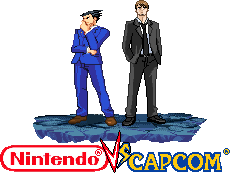 Phoenix Wright and Kyle Hyde by Riklaionel