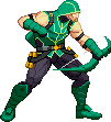 Image result for green arrow sprite gif