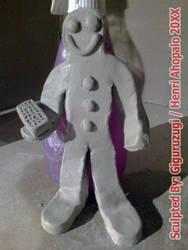 Gingerbread Man from TimeSplitters: Future Perfect by Giguruzugi