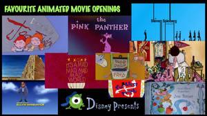 Favourite Animated Movie Openings