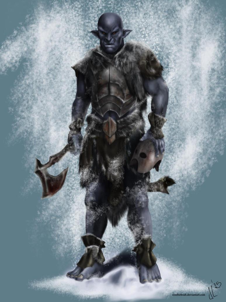 Black Orc By Jlazaruseb On Deviantart