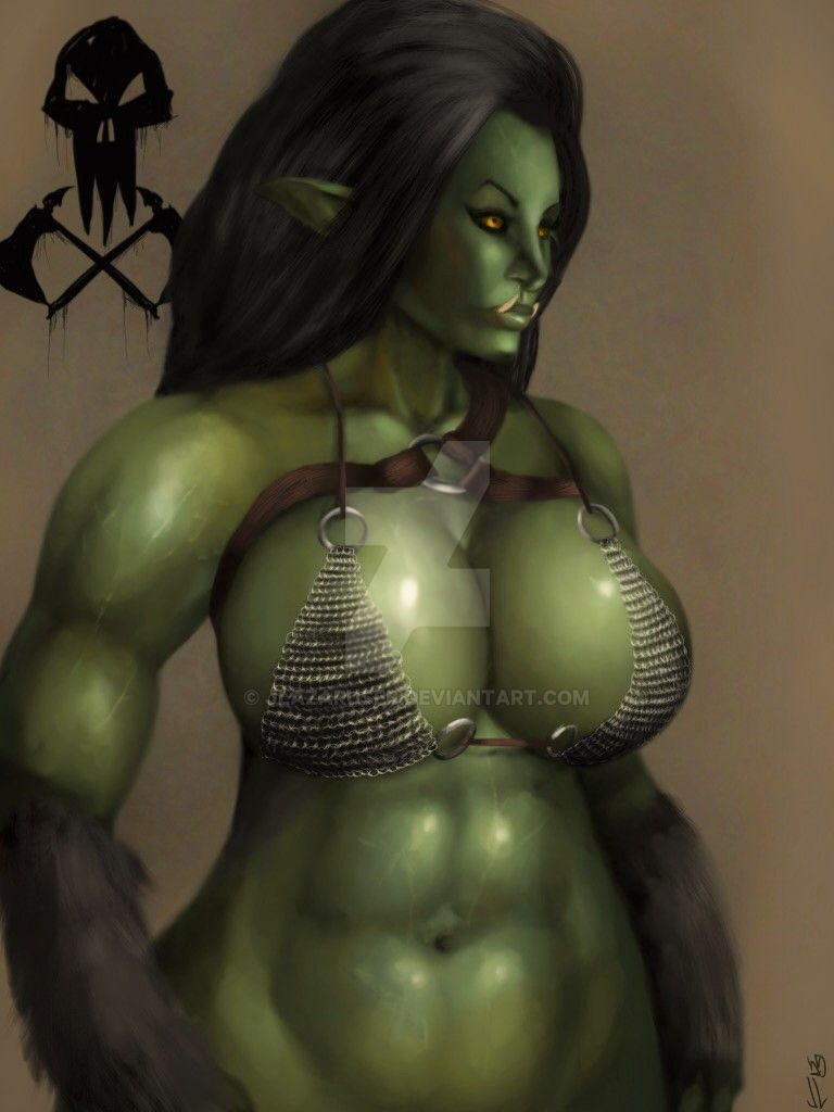 orc female wow