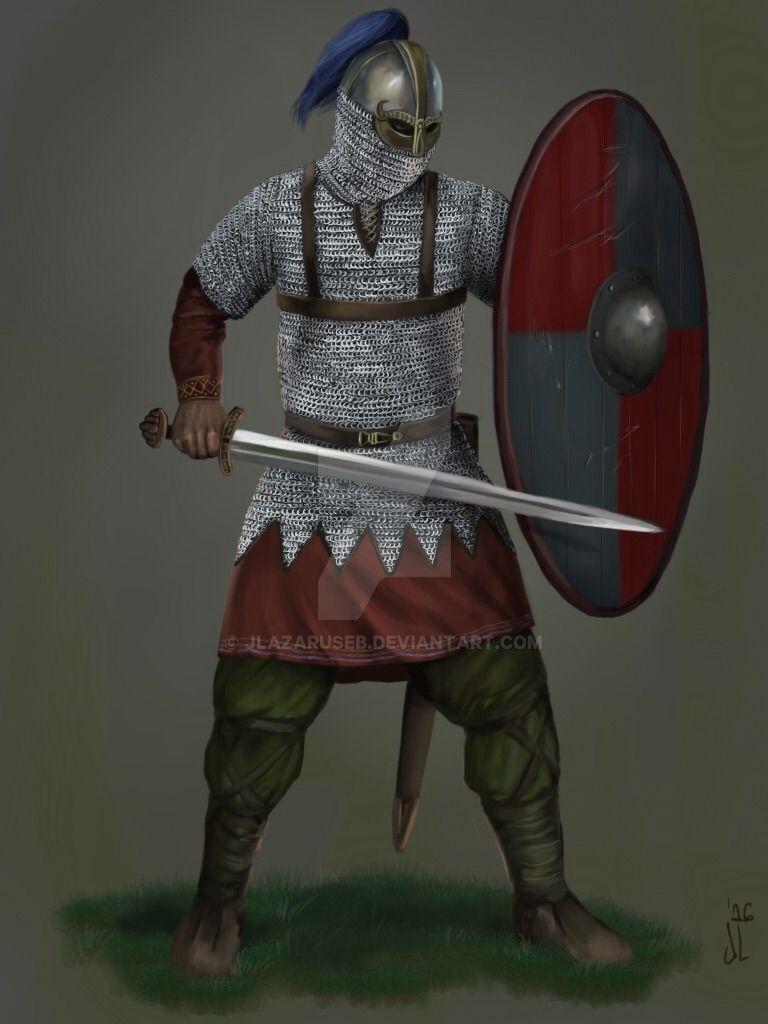 Saxon Thegn by JLazarusEB