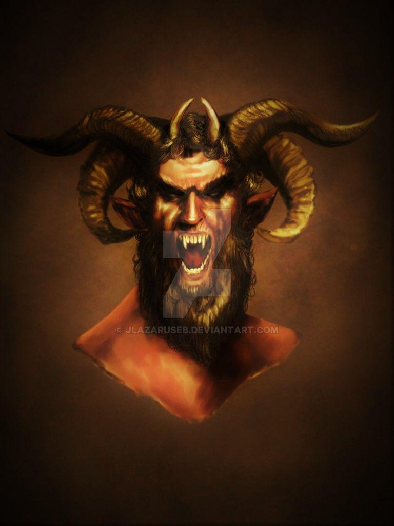 One Half Goat, One Half Man by JLazarusEB on DeviantArt - photo#33