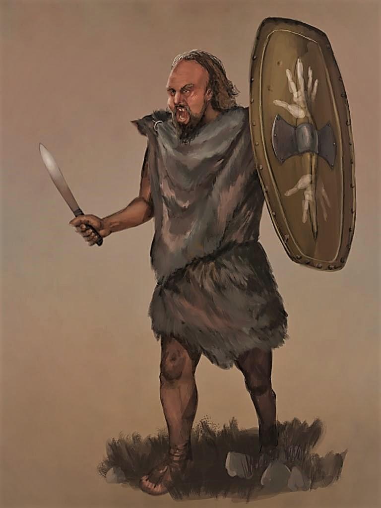 Dunlending Warrior by JLazarusEB on DeviantArt