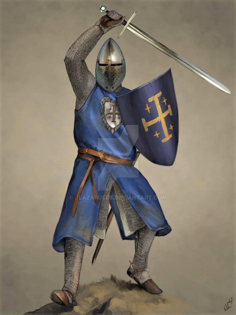 Knight Of Wands As Advice: Knight Of Edessa By JLazarusEB On DeviantArt
