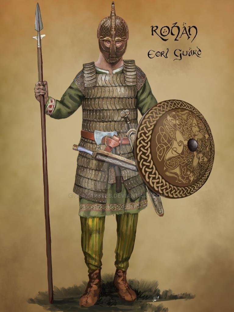 Rohan Eorl Guard by JLazarusEB