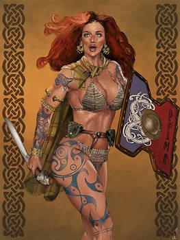 Pictish Woman, Moria Alfsdottir