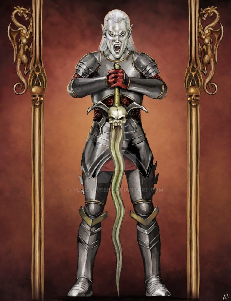 Kain Iron Armor by JLazarusEB
