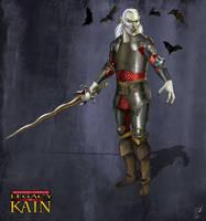 Kain the Vampire by JLazarusEB