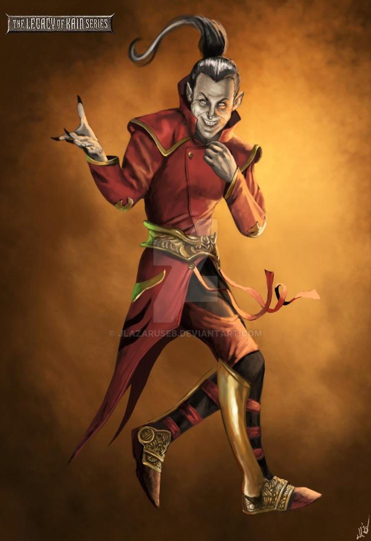Faustus the Vampire by JLazarusEB