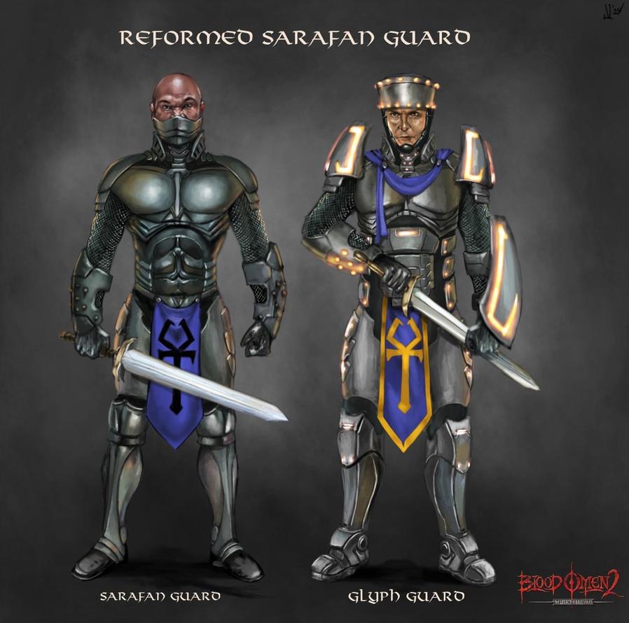 Sarafan Guard (Blood Omen 2) by JLazarusEB