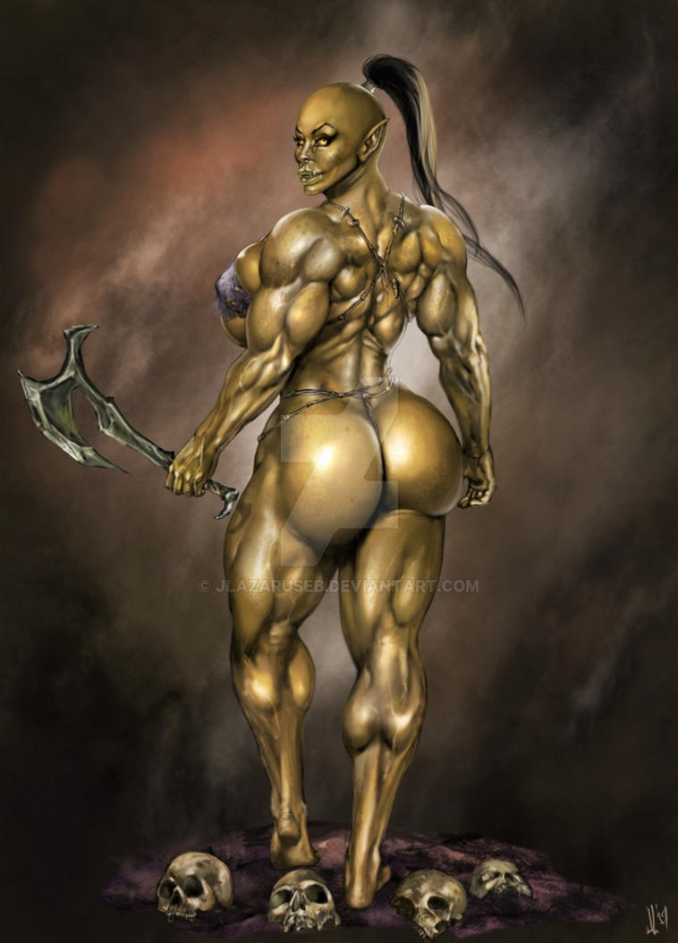 Grasha the Orc by JLazarusEB