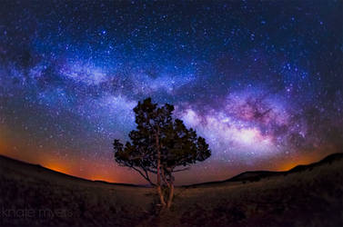 The Milky Way with a Hint of Moonlight