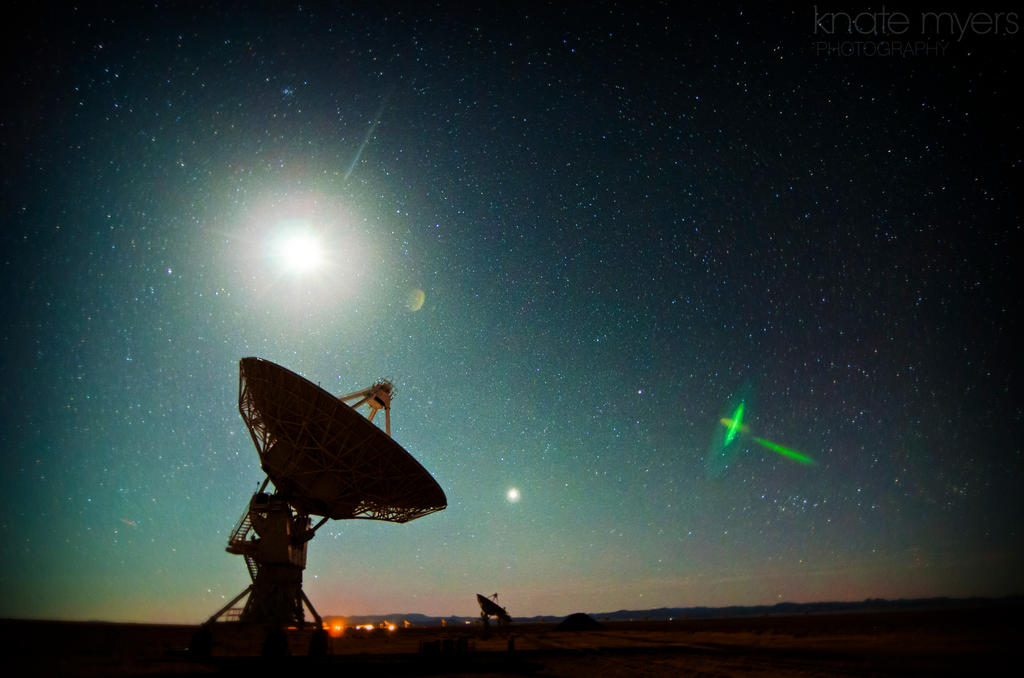 Verry Large Array (VLA) by k-n-8