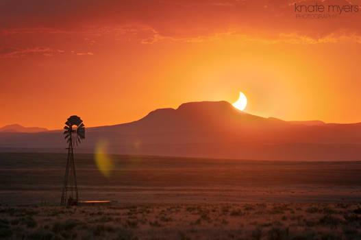Eclipsed Sunset