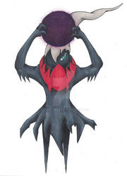 Darkrai (Commission) by dontevale