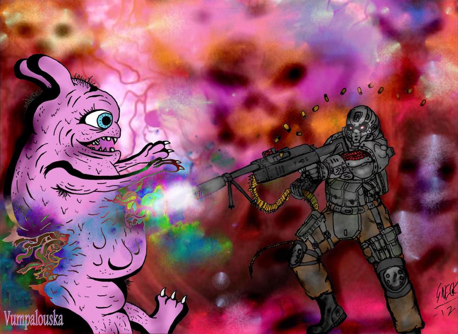Pyrocosmic trip by tyrannos