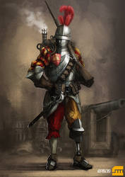 Fantasy Rifleman by BrotherOstavia