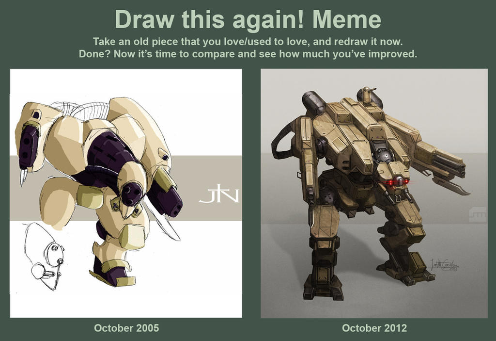 Draw this Mech again by BrotherOstavia