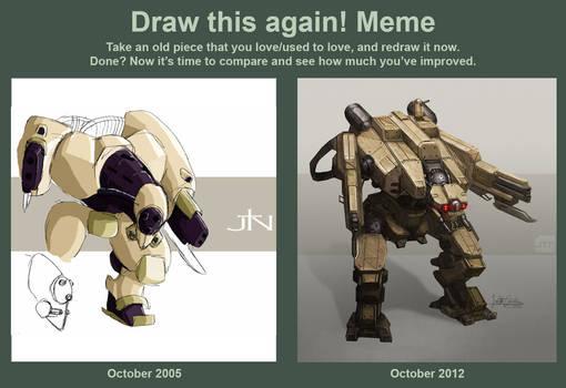 Draw this Mech again
