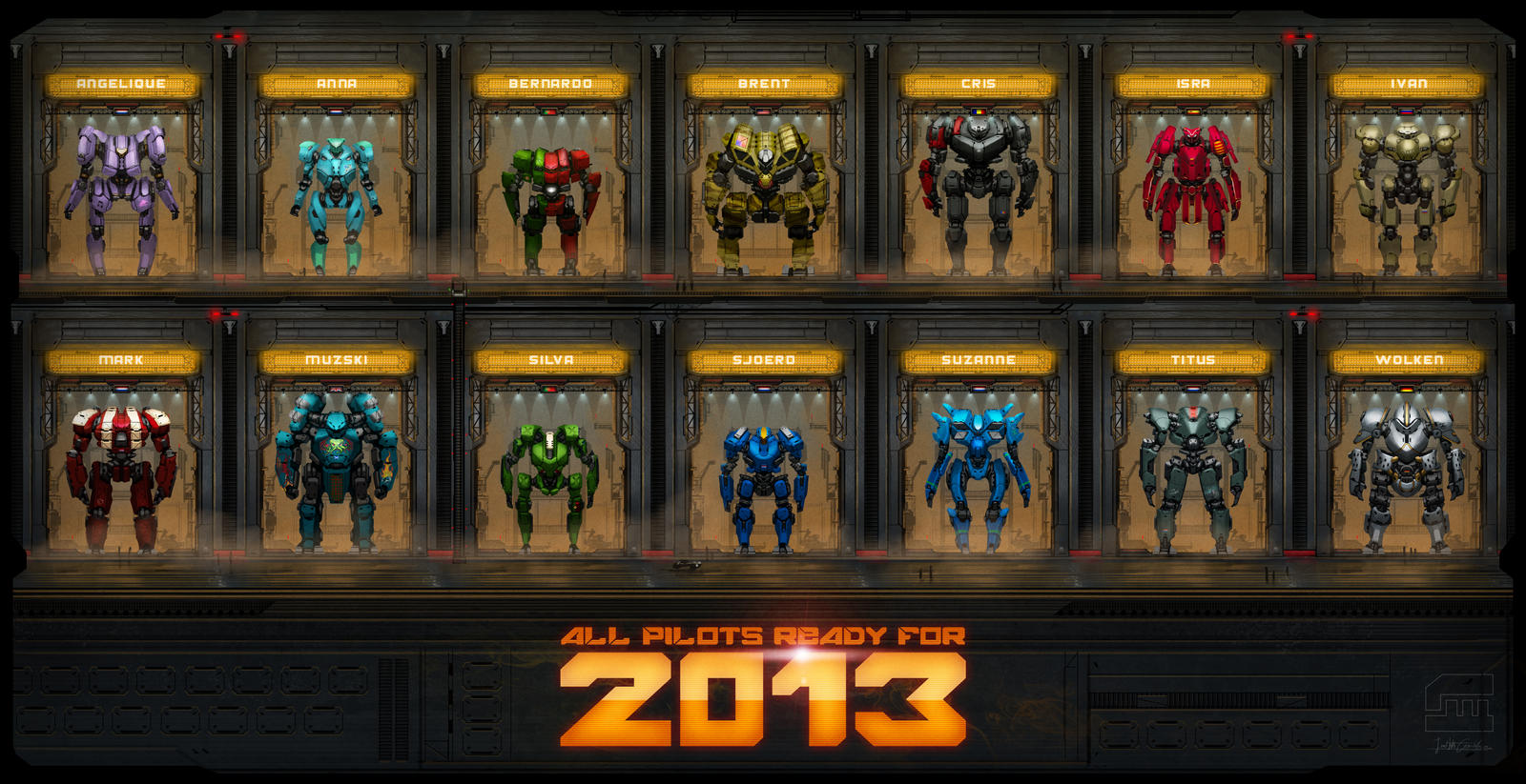 Ready for 2013 by BrotherOstavia