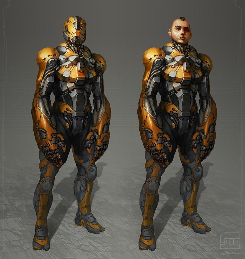 Yellow Suit by BrotherOstavia on DeviantArt