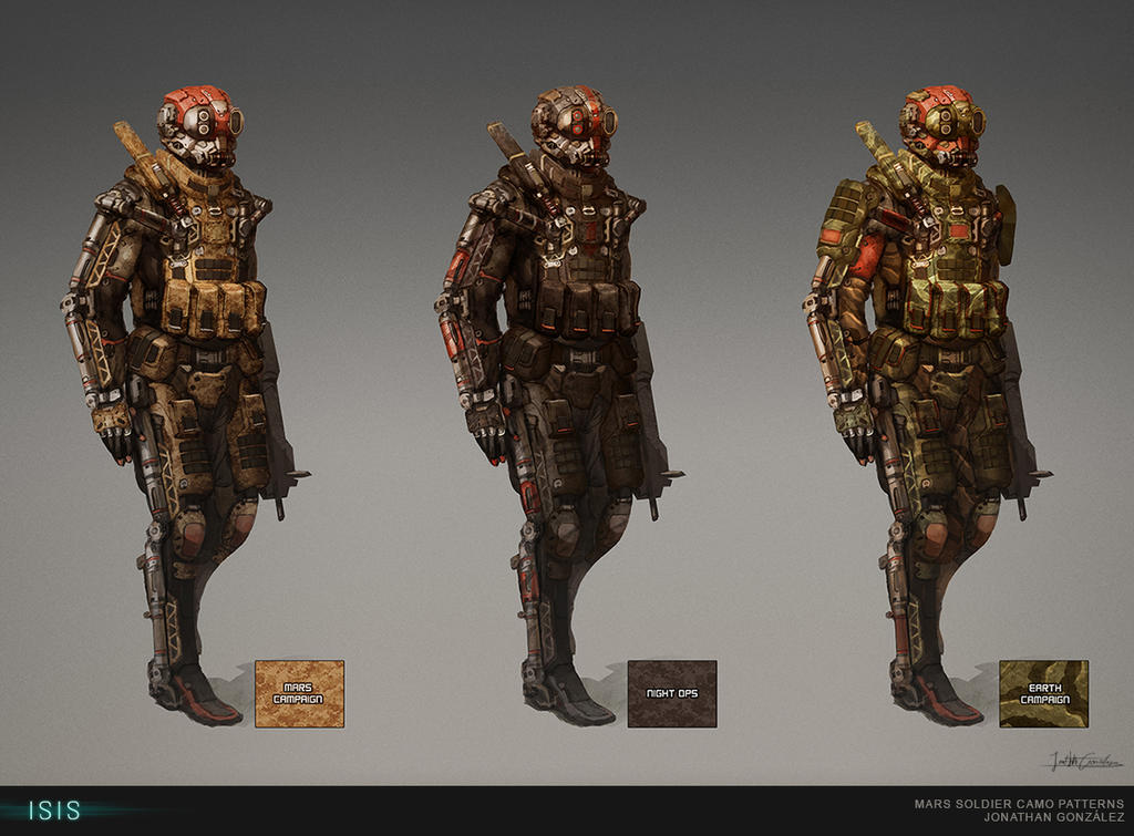 ISIS - Mars Soldier Camo Patterns by BrotherOstavia on ...