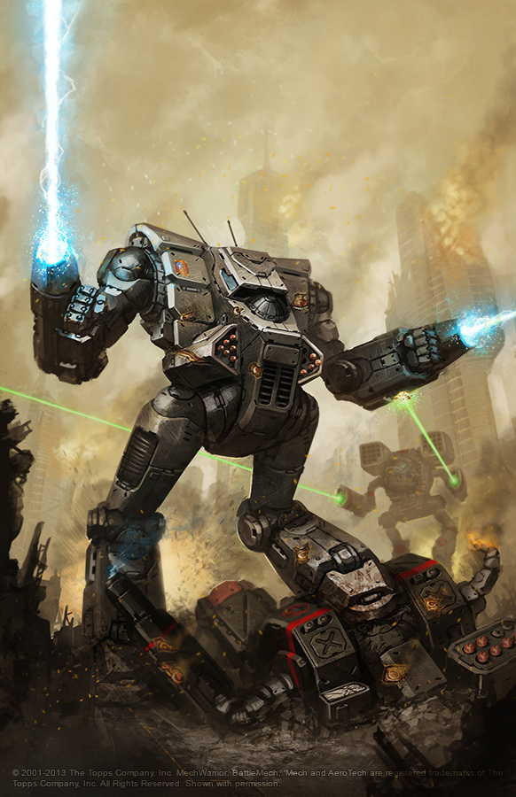 Battletech Fire for Effect cover by BrotherOstavia