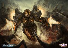Xenoshyft Paratrooper Hero by BrotherOstavia