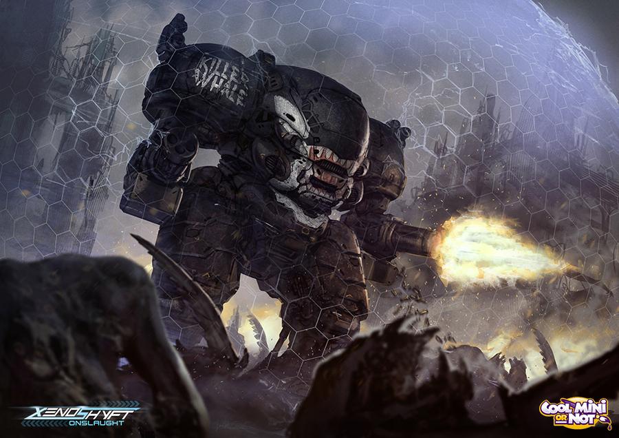 Xenoshyft Defender Hero by BrotherOstavia