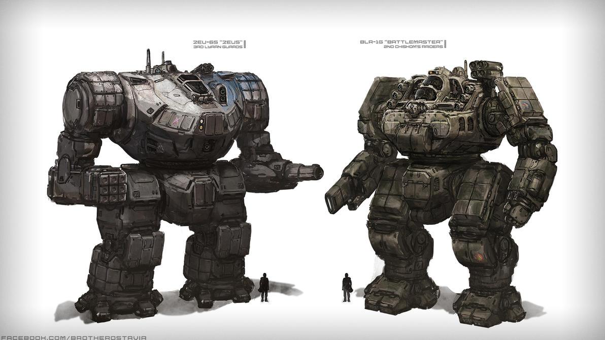 Battlemaster Mech