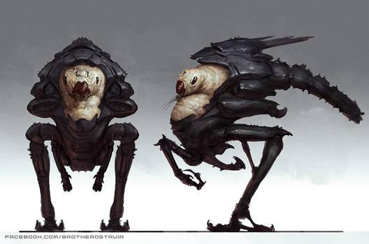 Bugged alien
