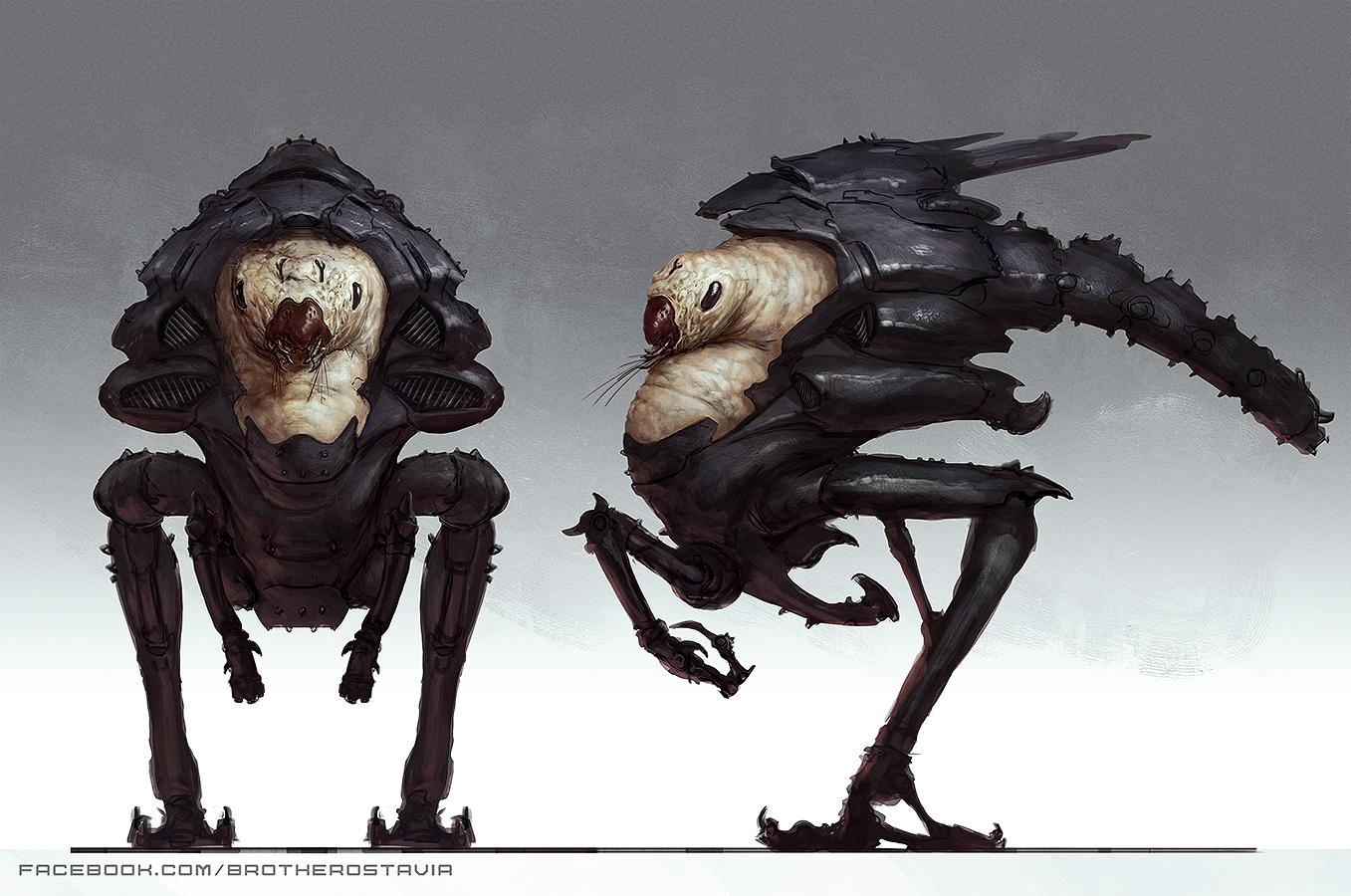 bugged alien by brotherostavia on deviantart