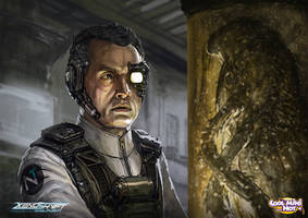 Xenoshyft Science Officer by BrotherOstavia
