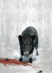 Boar by BrotherOstavia