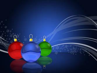 Scintillating Christmas Balls by parveenemi