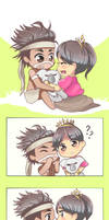 Cute Moment by Siripikan