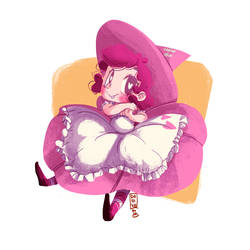 Pink Heart Witch V