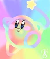 .:Kirby's Rainbow Yarn:. by ArtKirby-XIV