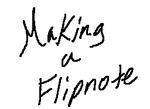 Flipnote 001 by ArtKirby-XIV