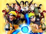 Naruto at Universal Studios