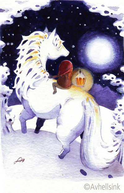 Talvihevonen by AnitramYnnej