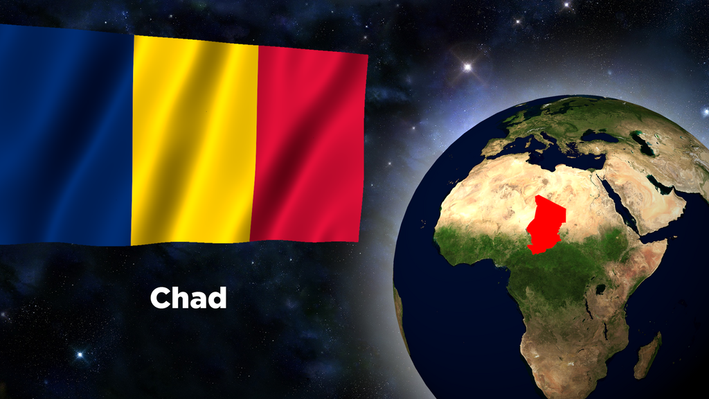 Flag Wallpaper - Chad by darellnonis