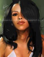 Aaliyah by illEskoBar