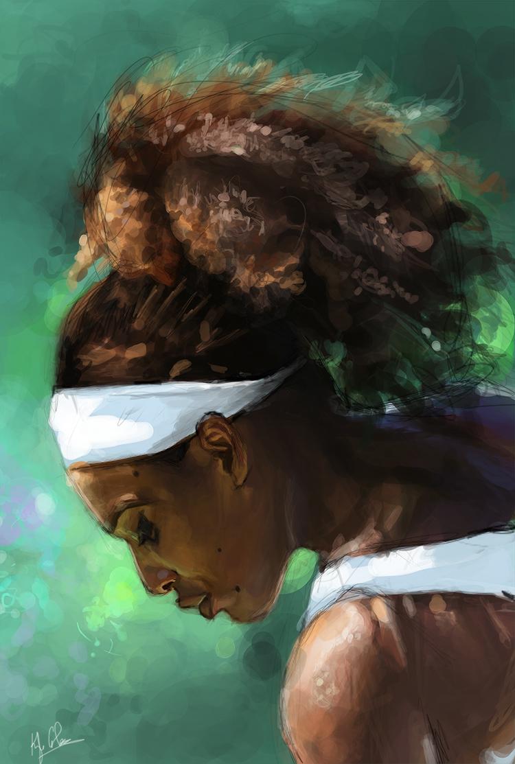 Photos & Vidéos de Serena Williams Serena_small_by_illeskobar-d6lqguw
