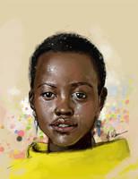 Lupita Nyong'o by illEskoBar