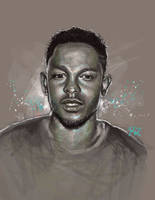 Kendrick Lamar by illEskoBar