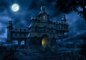 HAUNTED HOUSE by illugraphy